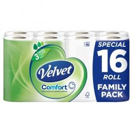 Velvent  Confort Tissue rolls