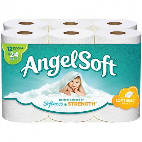 Angel Soft 12 Toilet Rolls