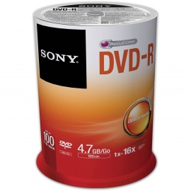 Sony DVD R DVD Disk - 100 pack