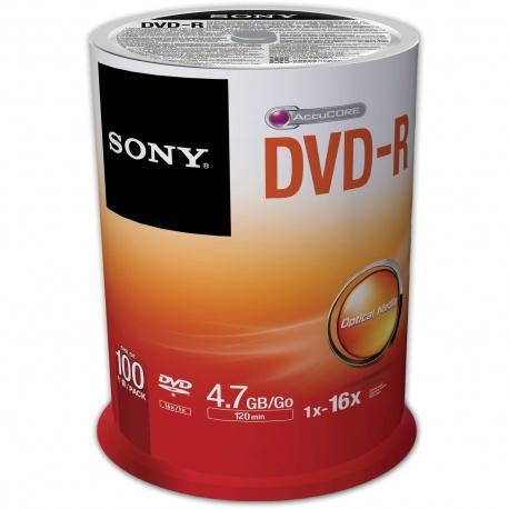 Sony DVD R DVD Blank Disk - 100 pack uganda