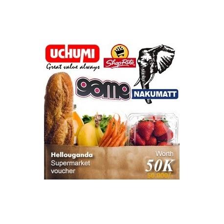 Budget supermarket shopping Voucher -uganda
