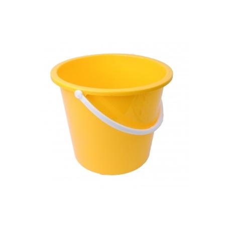 Yellow 10ltr Bucket