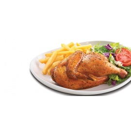 Half Chicken & Chips
