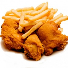 Chicken Wings & Chips
