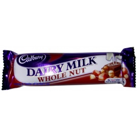 Cadbury dairy milk w/nut 49g