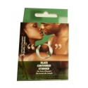 O Black Studded Condoms (3 in a Pack)