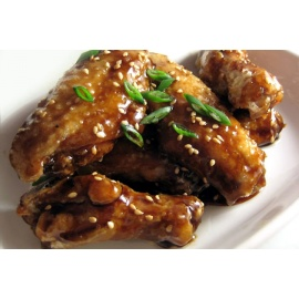Honey Garlic or Spicy Garlic Chicken Wings