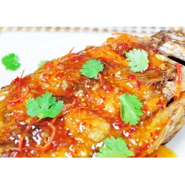 Fish In Chilli Garlic Sauce