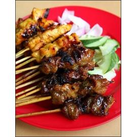 Beef Or Chicken Satay Sticks