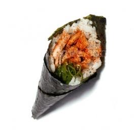 Salmon Temaki Cones