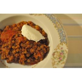 Birsen (Stewed Lentils)
