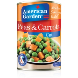 A/G Cut Peas & Carrots 15oz