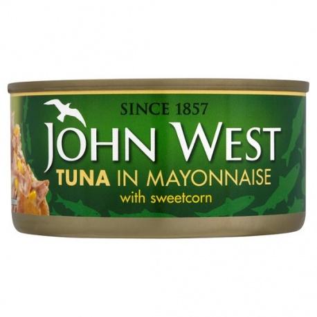 J/W Tuna In Sweet Corn & Mayonnaise 185G