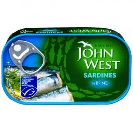 J/W Sardine in Brine120G