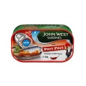 J/W Sardines with Periperi  Medium Chilli Sauce 120G