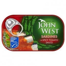 J/W Sardines in Spicy Tomato Sauce 120G