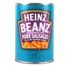 Heinz Beans With Pork Sausages 340G