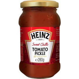 Heinz Sweet Chillies  Tomato Pickle 280G