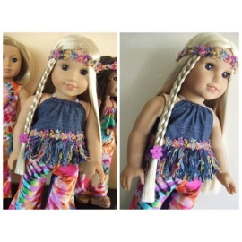 Baby doll 3pc set juli