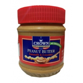 Crown Peanut Butter Smooth Creamy 340G