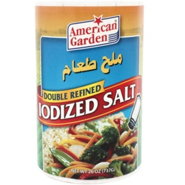 A/G Iodized Salt 26 OZ