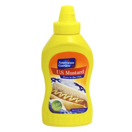 A/G Mustard Squeezy 9OZ
