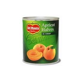 Delmonte Apricot Halves 825G
