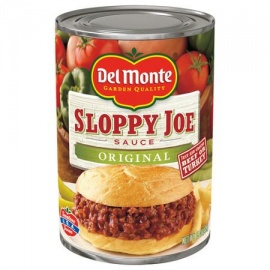 Delmonte Sloppy J/ Org 15OZ