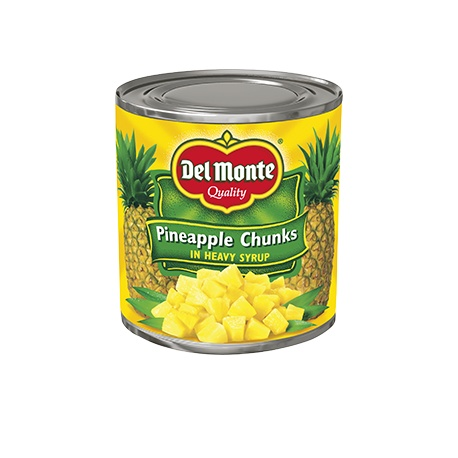 Delmonte P/Apple Chunks 432G