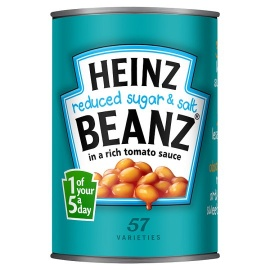 Heinz Baked  Beans Reduced Sugar & Salt 415 grams