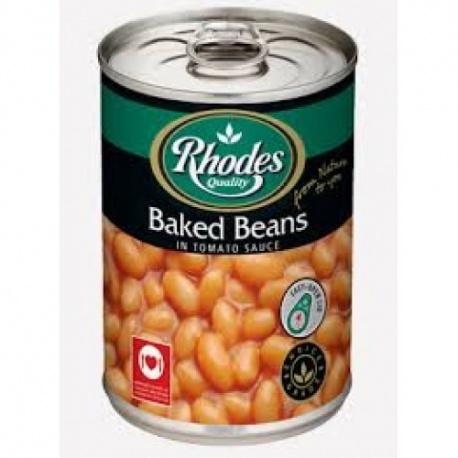 Baked Beans Rhodes 415G