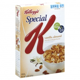 KELLOGS VANILLA ALMOND 397G