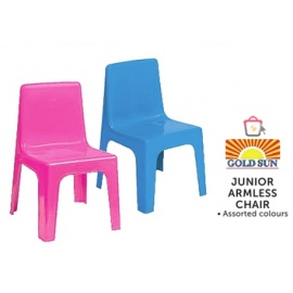Junior Armless Chair Gold Sun