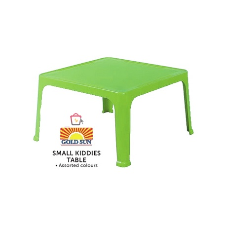 Small Kiddies Table  Gold sun