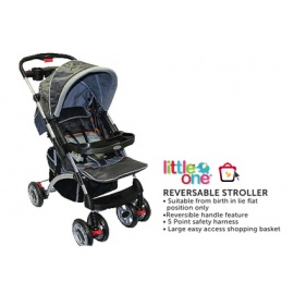 little one baby reversable stroller