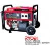 RYOBI 7.5KVA 4 STROKE Generator with Battery