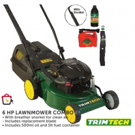 6 HP Lawnmower Combo TRIMTECH
