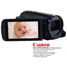 Canon HD CAMCORDER(HF-R606 BLACK)