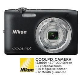 Nikon Coolpix Camera (s2800)