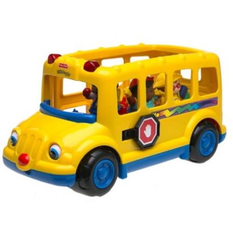 Deluxe bus toy