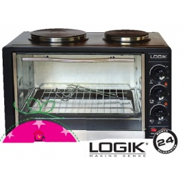 Logik 30l 2 hot plate and oven