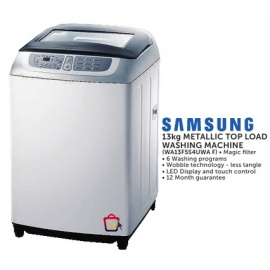 Samsung Metallic Top load Washing machine