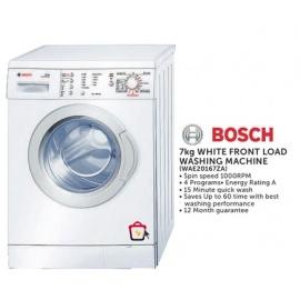 Bosch White front load washing machine 7kg
