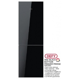 Defy 365l Black Bottom Freezer Fridge (DAC551)