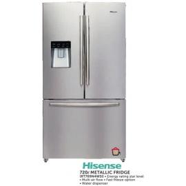 Hisense Metallic fridge 720l (RT709N4WSI)