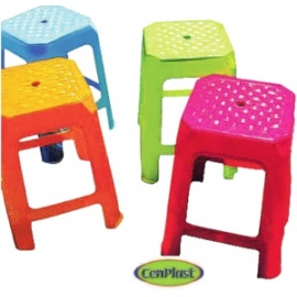 Assorted Colour Kitchen Stools