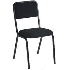 Black Rick Stacker Chair