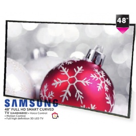"samsung 48"" full HD smart Vurved TV"