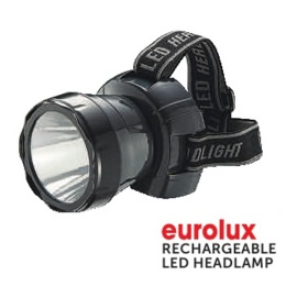 Eurolux Rechargeable LED Headlamp