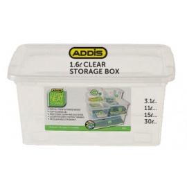 Addis Clear storage Box 1.6L